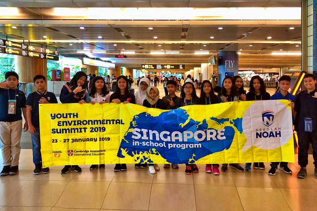 In School Program 2019 goes to Singapore