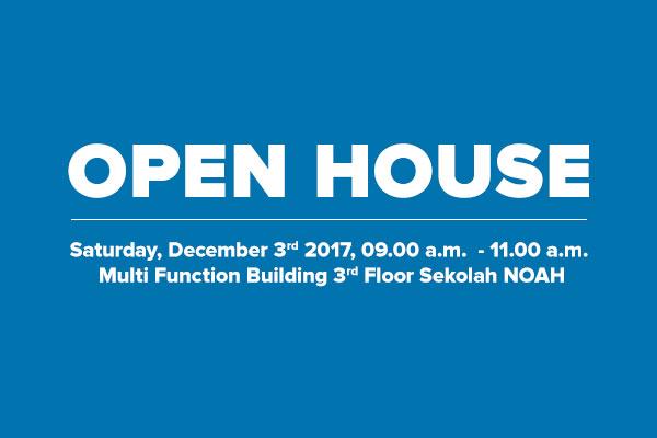 Open House: December 3rd 2016